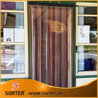 double hook link chain curtain for door for fly screen