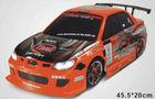 Rc drift carro de brinquedo, 10 escala 2.4g 4wd escovado elétrico de brinquedo do carro