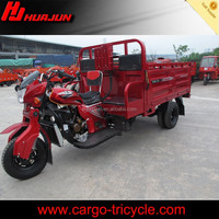 China heavy-duty water cooling engine gasoline motorized five wheeled motorcycle for cargo