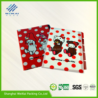 pp plastic binding cover, transparent EVA frosted book jackets, plastic book cover SHWK3254