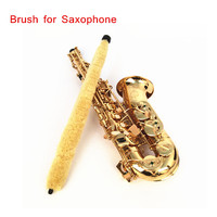 Cleaning Brush Cleaner Pad Saver for Alto Sax Saxophone Soft Durable