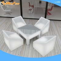 Supply all kinds of screw lift LED chair,one side sofa LED chair