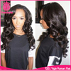 2015 8A grade unproessed cheap virgin brazilian body wave hair glueless lace wig