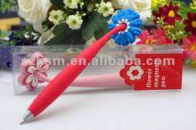 Custom desigin available promotional magnet pen