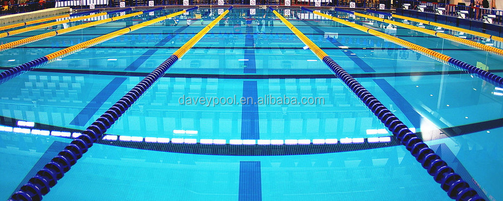 Competition equipment swimming pool floating line/swimming pool lane  rope/swimming line, View swimming pool floating line, DAVEY Product Details  from ...