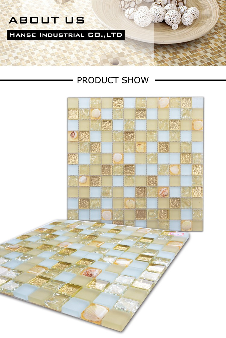 FD-98 barato bisazza mosaico de vidro do banheiro telha da parede