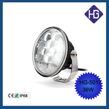 New products 12V IP68 36W led work lamp off road led work lightJeep Boat SUV ATV