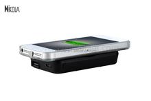 Shenzhen Factory supply Black Adsorption 4000mAh qi wireless power pad charger