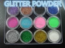Bulk color glitter for tattoo ink