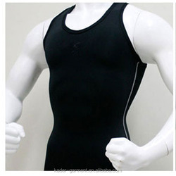 Mens Compression Under Base Layer Tank Top Vest Gym Muscle Bodybuilding Clothing