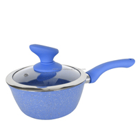 latest product in alibaba industrial kitchen equipment euro market popular mini milk boiling pot with soft touch handle