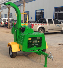 CE approved 18hp forest diesel engine 6 inch wood chipper for sale