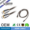All digital transimission vedio&audio HDMI cable 1.4v gold plated cable support 3D 1080p 4k*2k for PC HDTV BLU-DVD