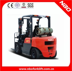NBO New LPG forklift with low price and high quality