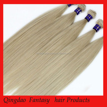 Human Hair Wholesale AAAAAA Grade Natural Color Straight Virgin Russian Hair