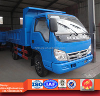 FOTON Forland 95Hp 4X2 5 ton dump truck for sale best price