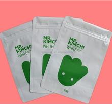 Custom logo ziplock plastic bag