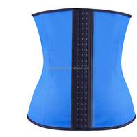 2015 hot sale sex women latex waist trainer corsets girdles