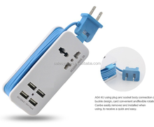 Full 71W/14.2A 4 port usb charger Travel AC Wall Charger Power Adapter US, UK,EU,AU Plug For iPhone and for Samsung