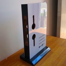 TSD-W1254 Custom retail store high quality door lock display stand,door lock display rack,cam lock display shelf