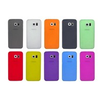Ultra Thin Hard Plastic Cellphone Cover Case For Samsung Galaxy S6 Edge