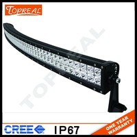 Factory directly wholesale50 inch 288w 4x4 cree led car light curved led light bar