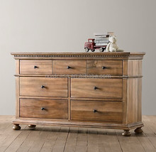 Recycled Wood Furniture, Antique Reclaimed Oak Wood Buffet