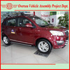 to assemble China gasoline SUV in Africa (SKD & assembly equipments avaialble)