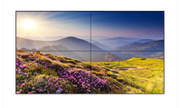2015 Hot sell ultra narrow replacement lcd tv screen for indoor advertising