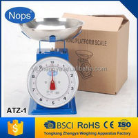 Mechanical kitchen scale / Spring platform scale /weighing balance