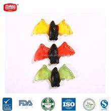 Bat Shape Halloween Soft Chewy Gummy Fruit Jelly Candy