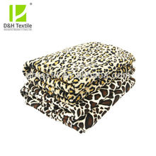 Customer Micro Printed Soft Branded Blankets Wholesale