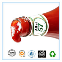 china original canned tomato paste/canning tomato paste ingredients/la sauce tomate bidon 400g