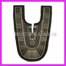 Latest neck design of dresses/ladies suit neck design/blouse neck embroidery design WTA174