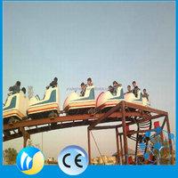12 seats mini kiddie roller coaster for sale