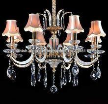 iluminación de la lámpara crsytal
