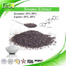 Professional Factory Supply Sesame Seeds P.E., Sesame Seeds Powder Extract Sesamin