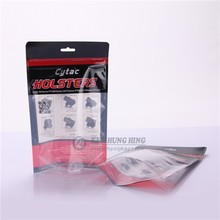 SGS Approved ziplock garment packing Doypack pouch with Hang Hole