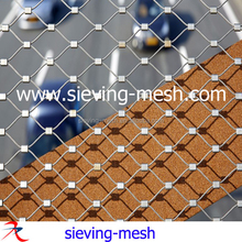 Animal Protection High Tensile Steel 316 Cable Mesh Fencing Factory