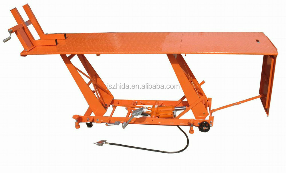 Air Motorcycle Lift Table : Kg air motorcycle lift table hot sale harley bagger
