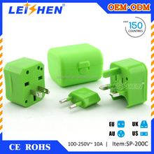 The cheapest popular Christmas promotional gifts items electric travel adapter for universal travel