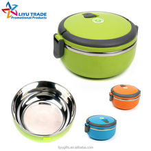easy cleaning stainless steel thermal lunch box vacuum lunch box