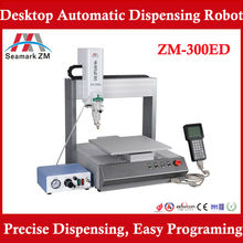 Hot sale !! digital glue dispenser ZM-300ED with high precise dispensing software control
