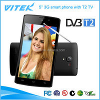 China supplier 5'' android 3G music phone tv mobile