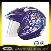 Custom tIron open face motorcycle helmet 887