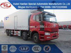 FAW Refrigerated Box Van Truck/Truck Van/jac 15ton refrigerator truck/reefer box van truck/freezer van truck
