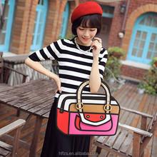 HFR-YB40 2015 Korean fashion 3D stereoscopic nylon pvc hangbag facotry