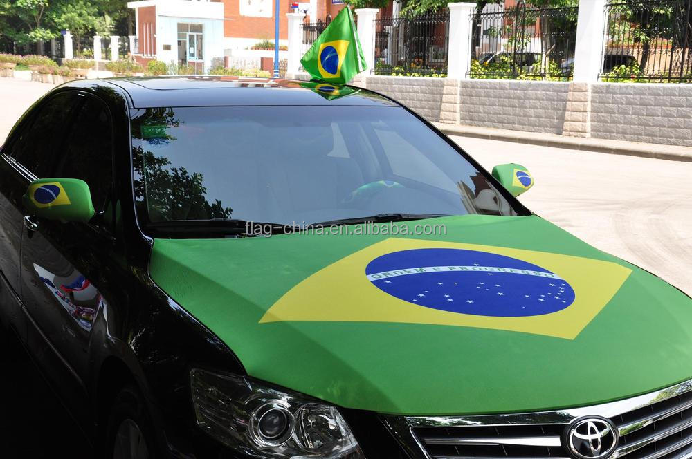car flag for 2014 world cup