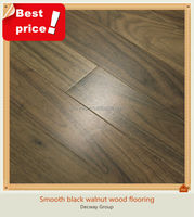 Hot sale smooth Asian walnut hardwood flooring
