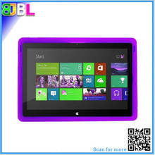 Silicone tablet case for Surface Pro 3 Windows 8 tablet rugged shockproof case for Microsoft Pro 3 cover